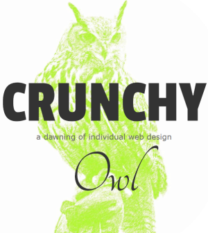 My small design studio, Crunchy Owl